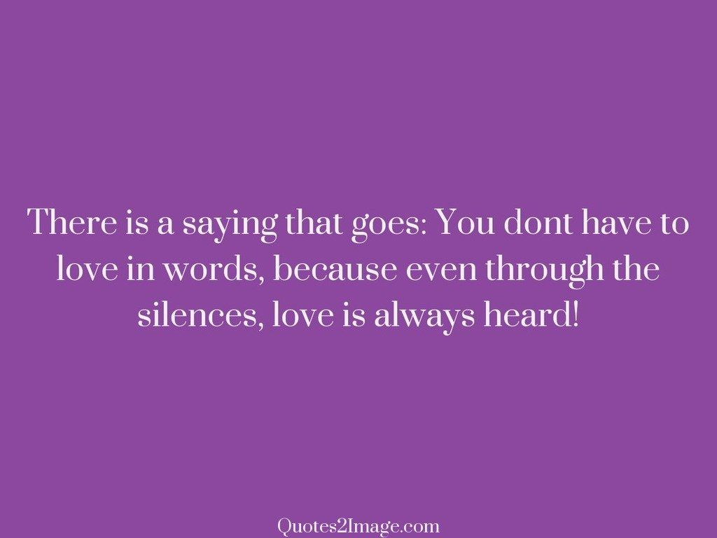 Always heard