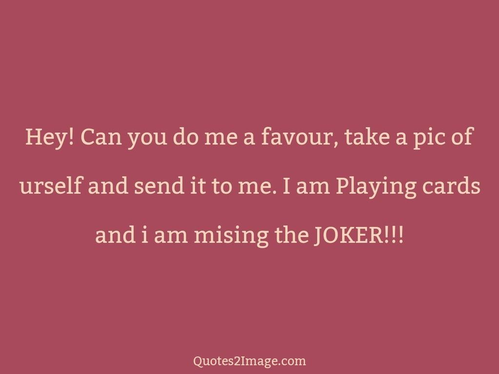 Cards and i am mising the JOKER