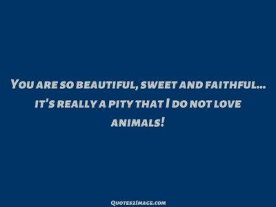 insultquotepityloveanimals