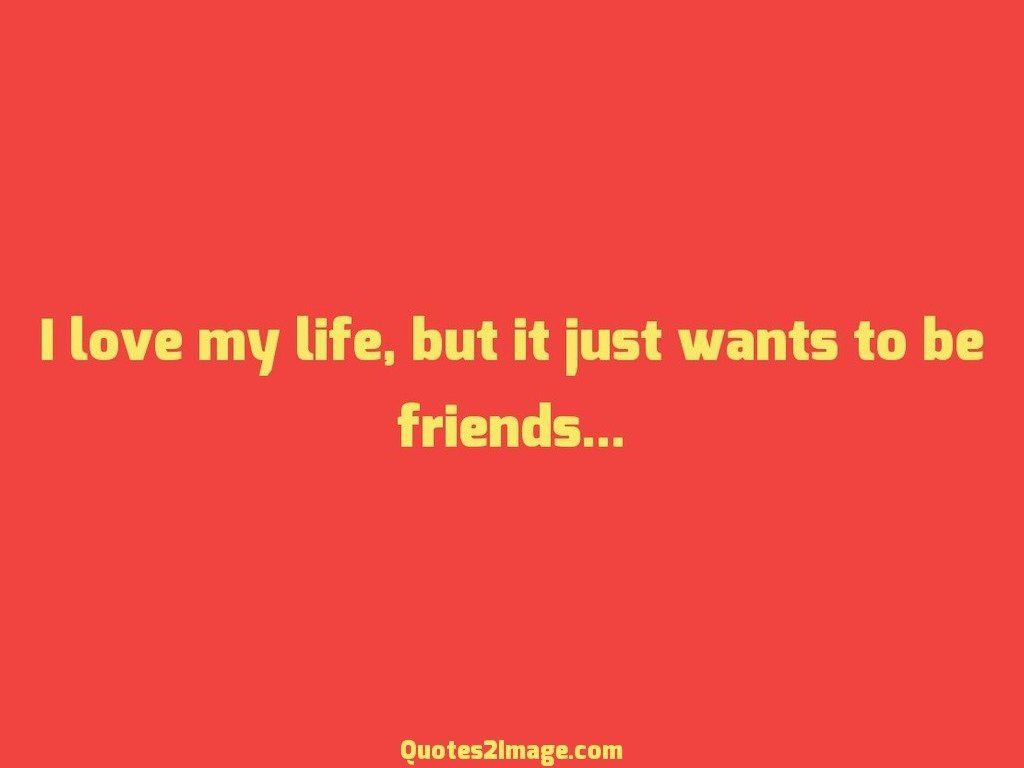 Interesting Quotes About Life I Love My Life  Interesting  Quotes 2 Image