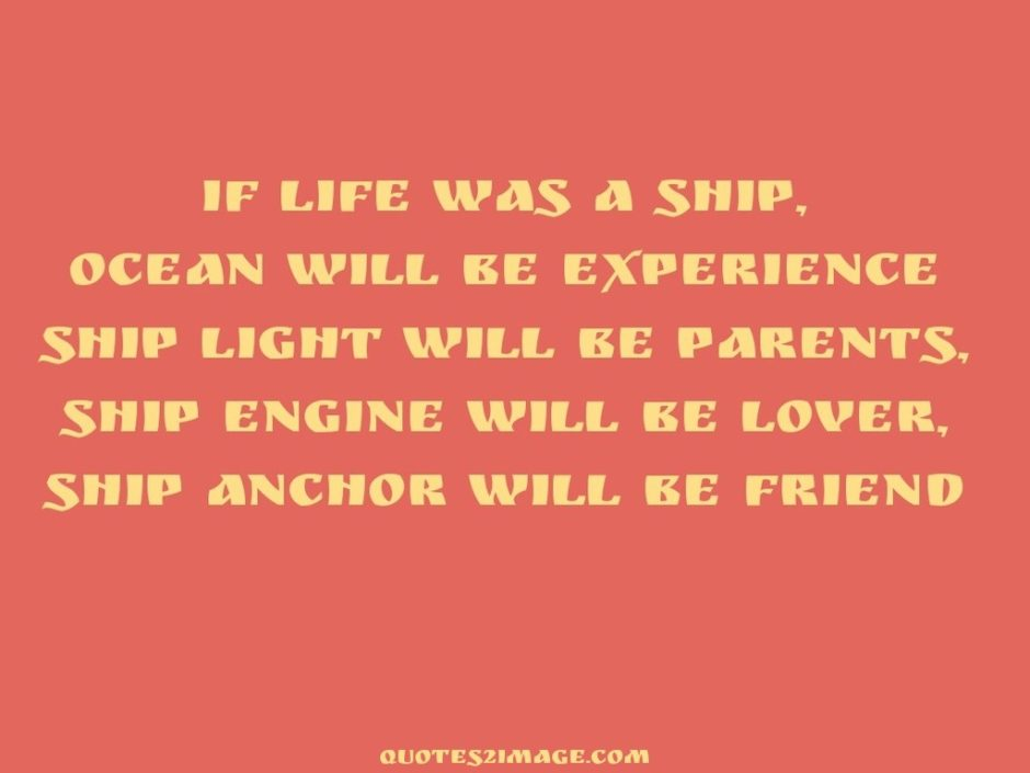 Anchor will be friend