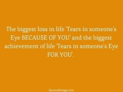life-quote-biggest-loss-life