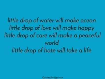 life-quote-drop-water-make