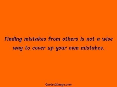 life-quote-finding-mistakes-wise