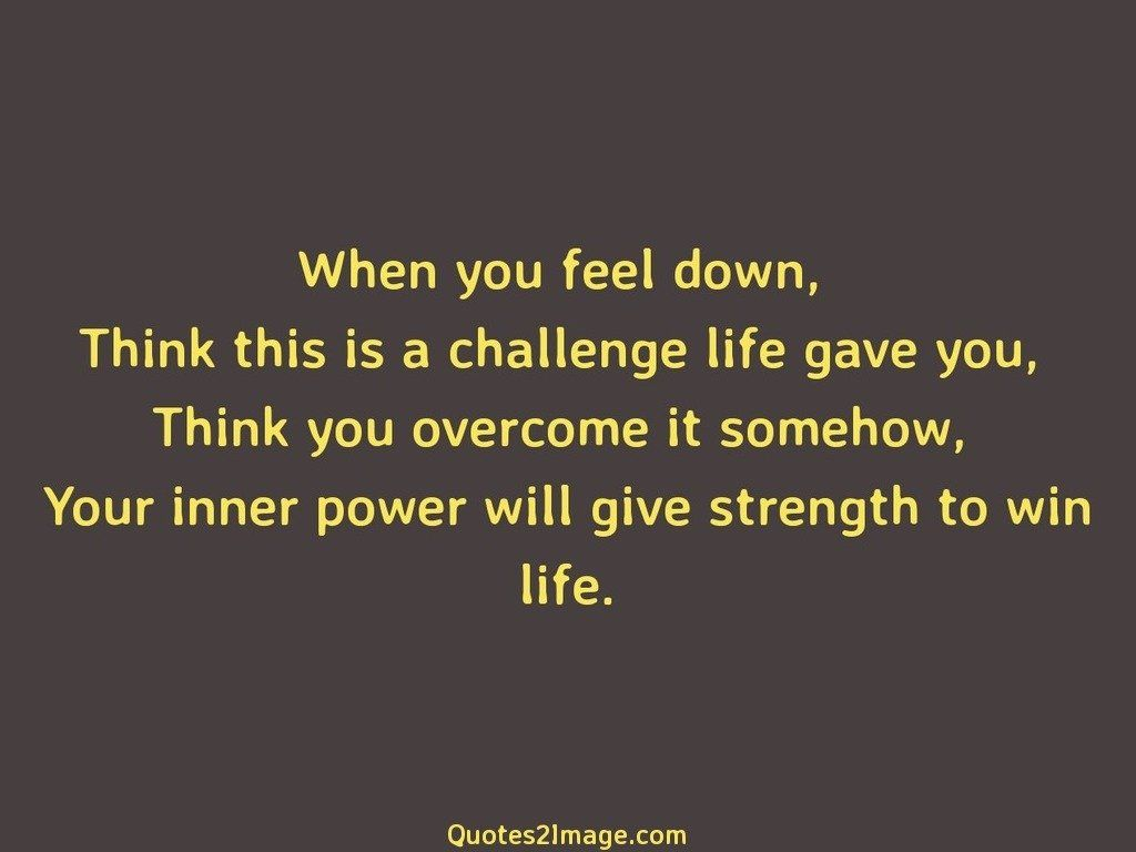 Give strength to win life