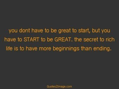 lifequotegreatstart