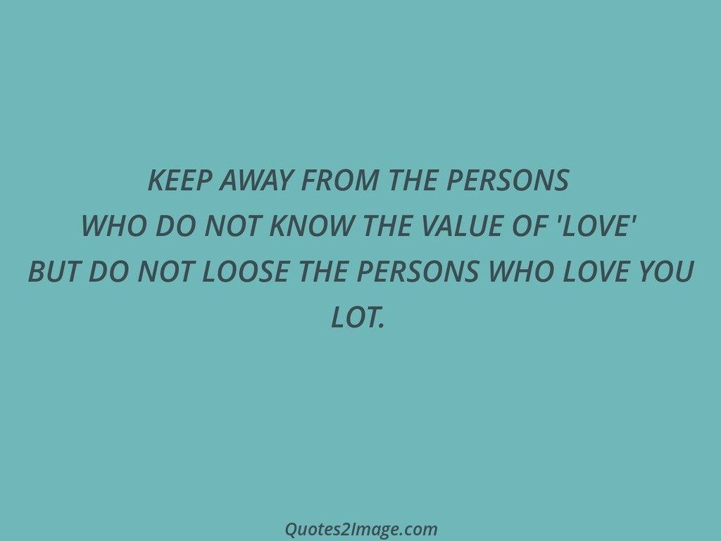 KEEP AWAY FROM THE PERSONS