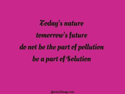 lifequotepartpollutionsolution