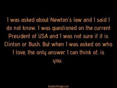 love-quote-asked-newton-law