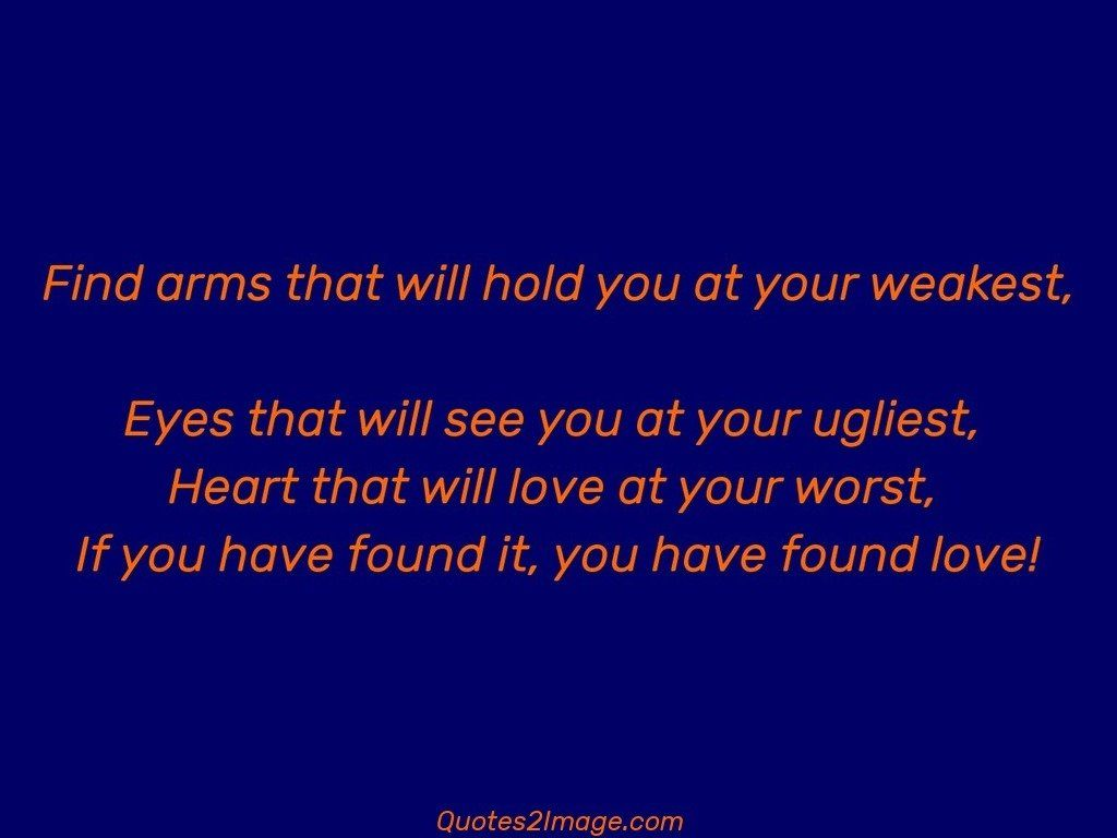Find arms that will hold