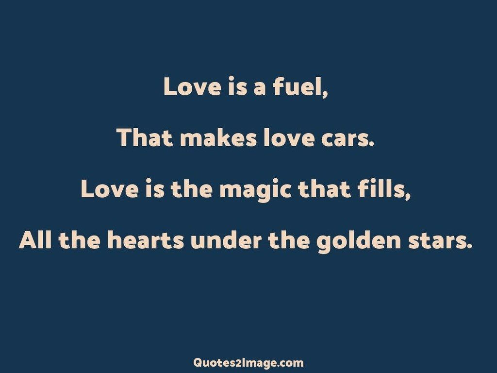 Hearts under the golden stars