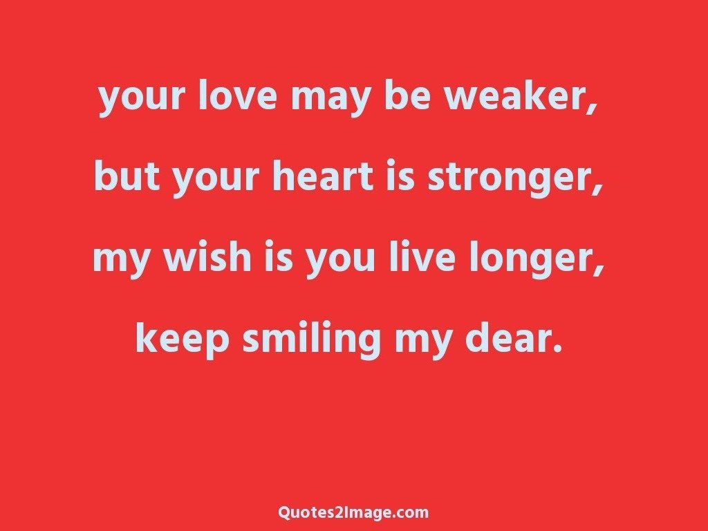 Keep smiling my dear - Love - Quotes 2 Image