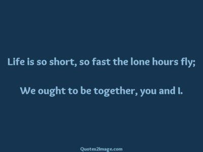 love-quote-life-short