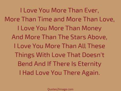 I Love You More Than Ever Love Quotes 2 Image