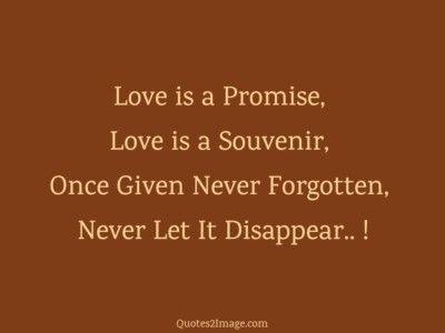 lovequotelovepromise