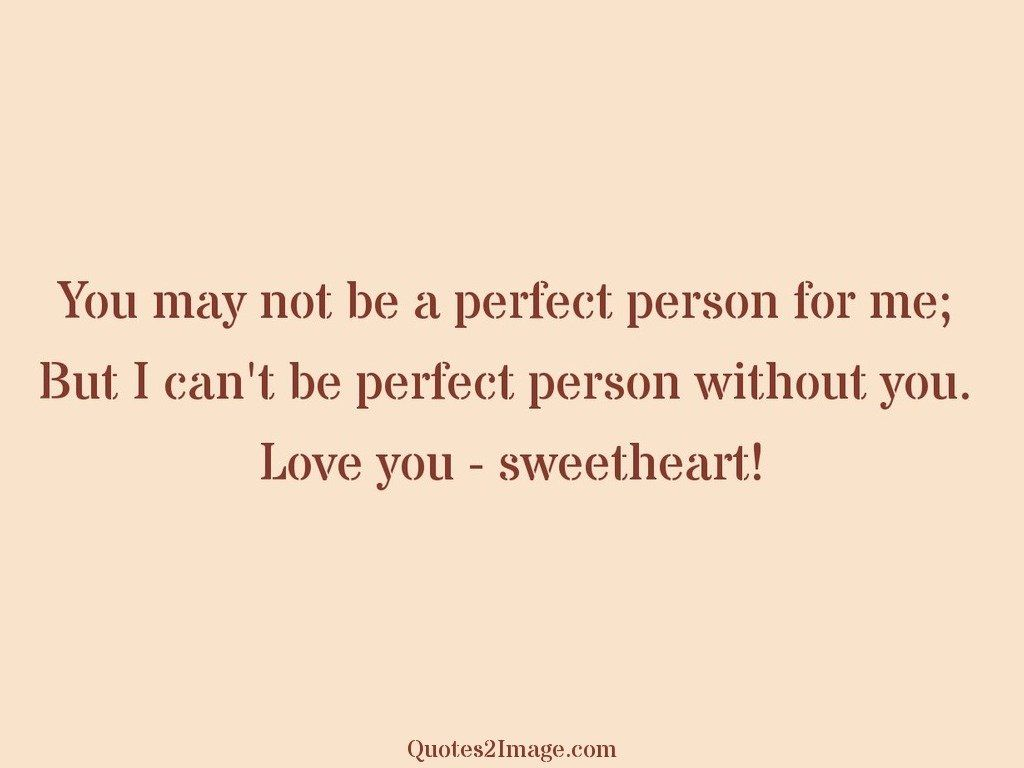 Love You Sweetheart Love Quotes 2 Image