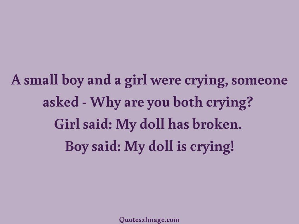 Funny Love Quotes Boy And Girl : small boy and a girl - Love - Quotes 2 Image