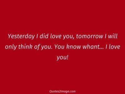 lovequoteyesterdaylove