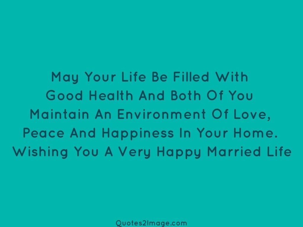 Very Happy Married Life