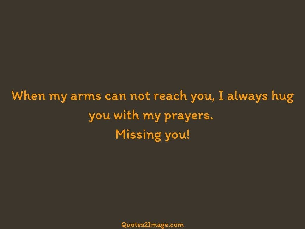 When my arms can not reach