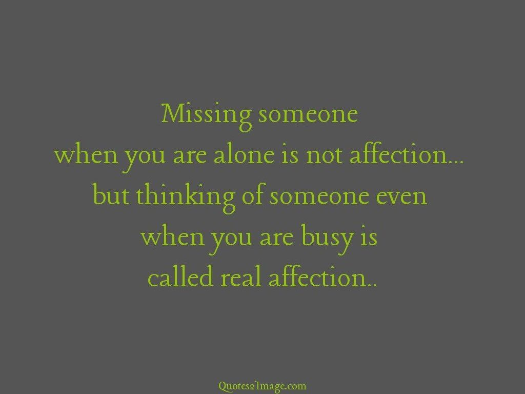 Called real affection
