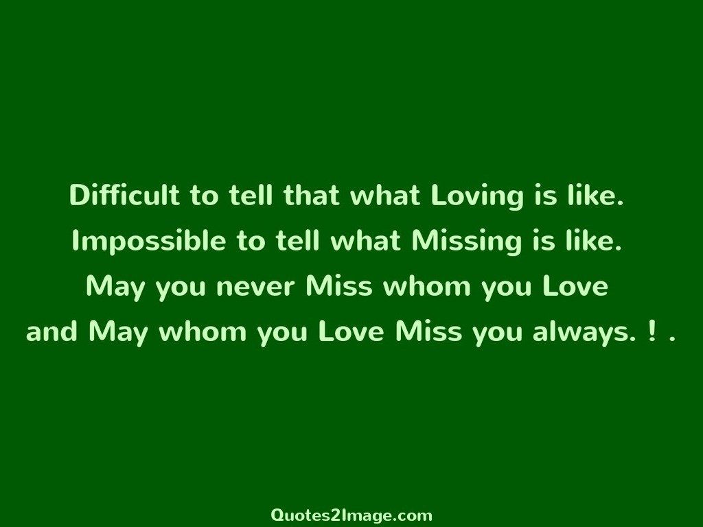 Difficult to tell that what Loving