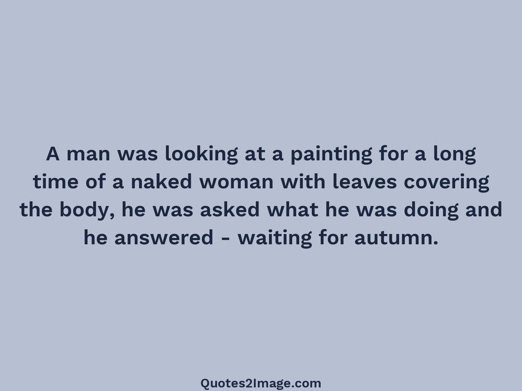 A man was looking at a painting