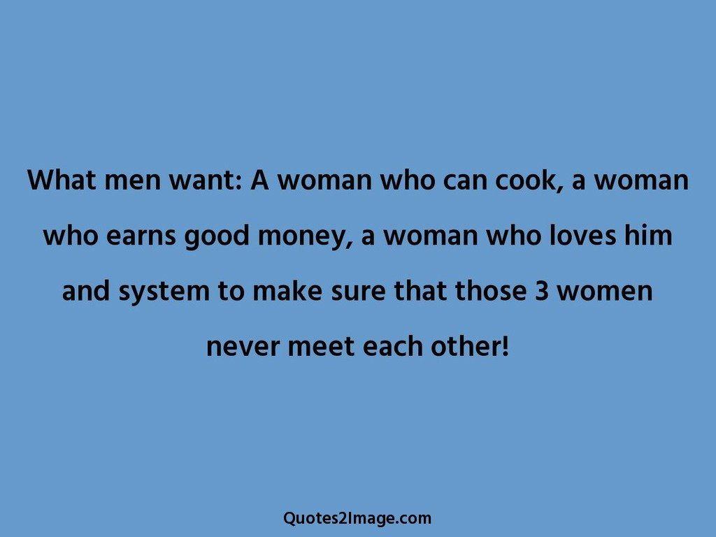 3 women never meet each other
