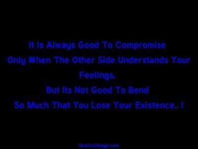 relationshipquotealwaysgoodcompromise