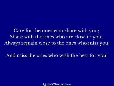 relationship-quote-care-ones-share