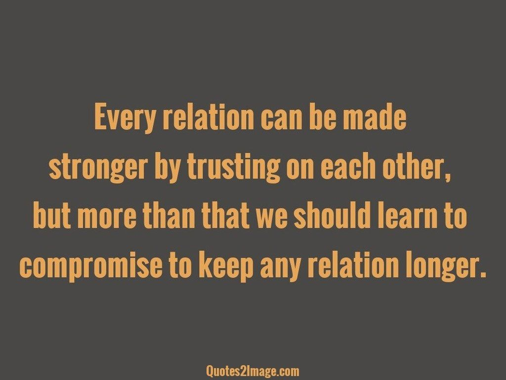 Every relation can be made