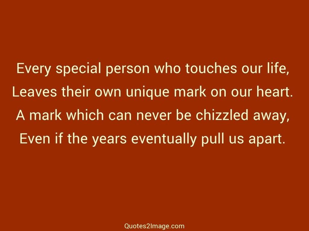Every special person
