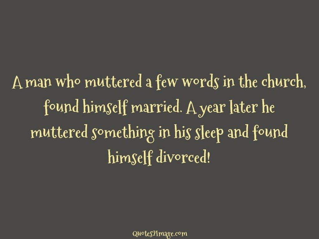 A Man Who Muttered A Few Words Relationship Quotes 2 Image