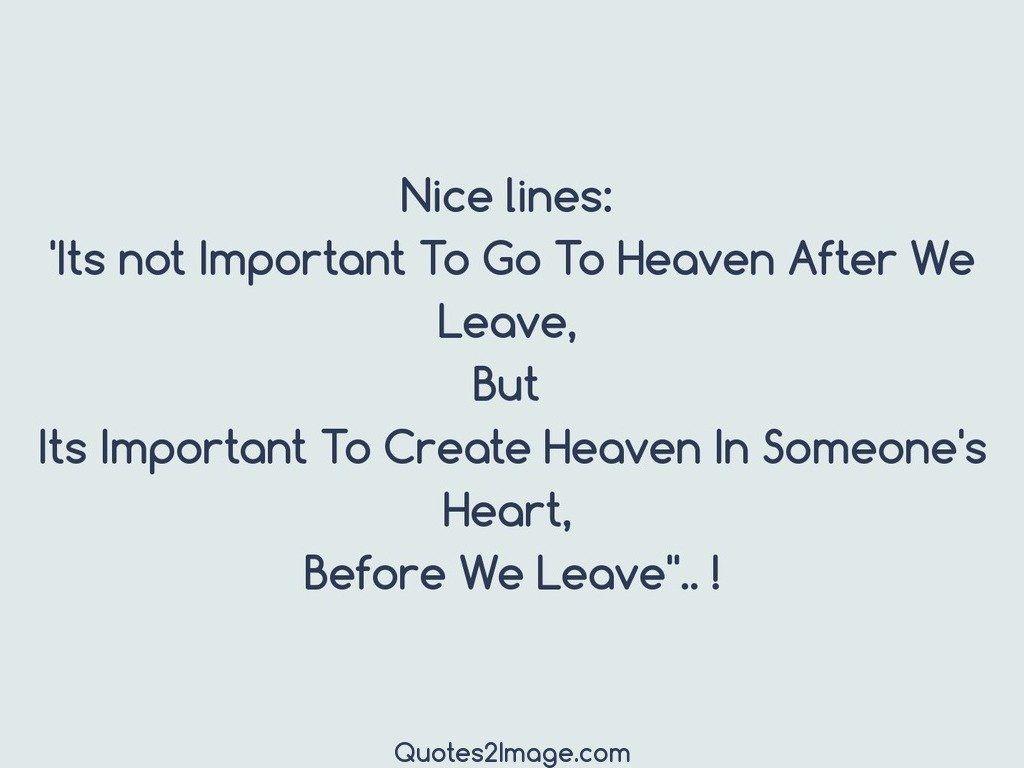 Nice lines