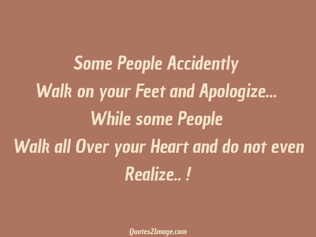 Some People Accidently