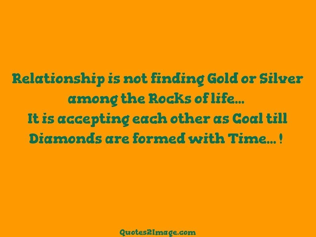 Relationship is not finding Gold