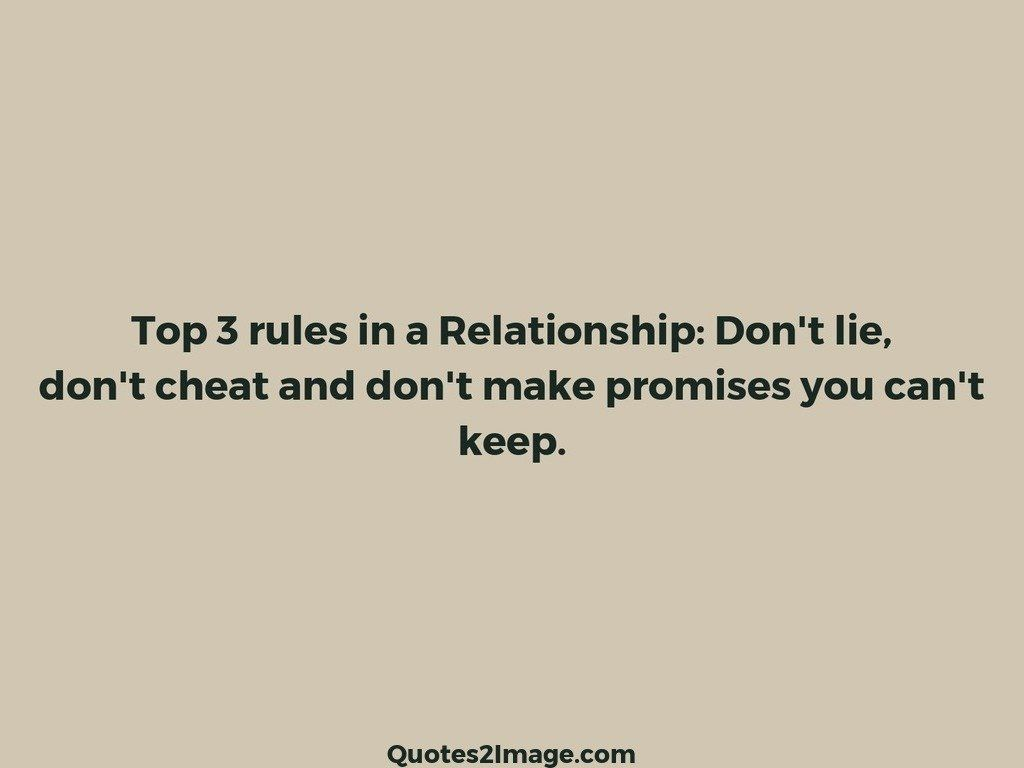 Top 3 rules