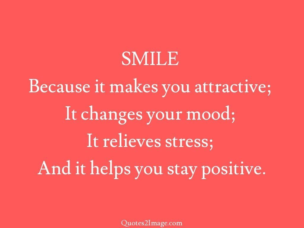 Helps you stay positive