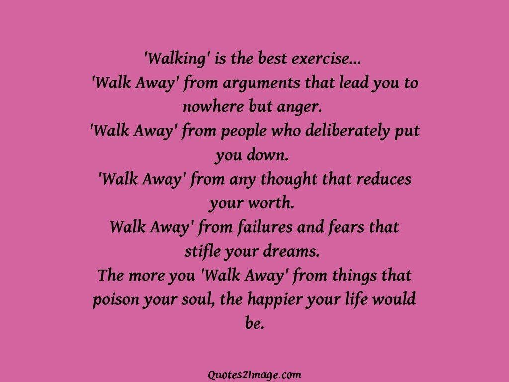 Walking is the best exercise