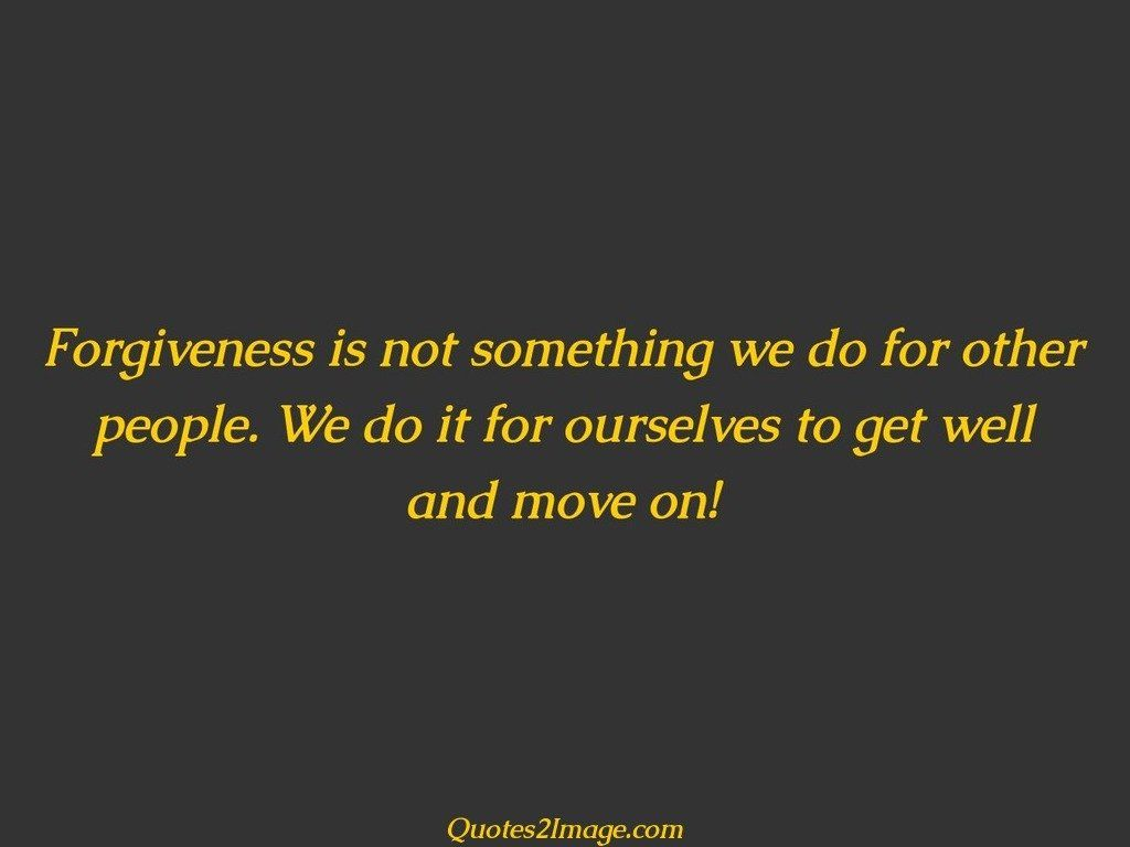 Well and move on